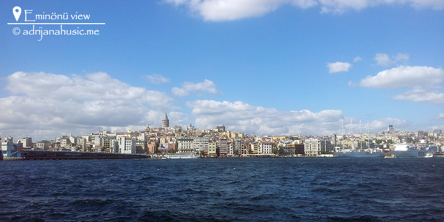 Eminonu View, Istanbul