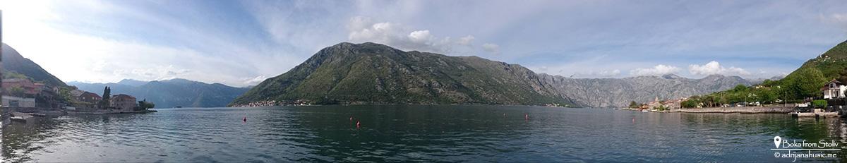 Boka Panorama iz Stoliva, maj 2015.